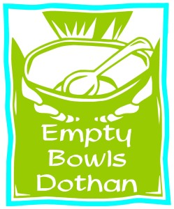 Empty Bowls Dothan Logo
